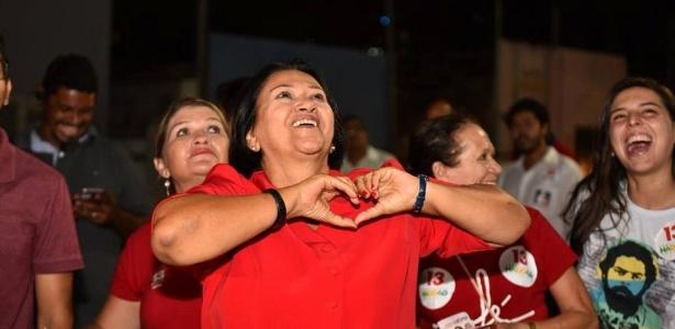 Fatima Bezerra, candidata do PT ao governo do Rio Grande do Norte