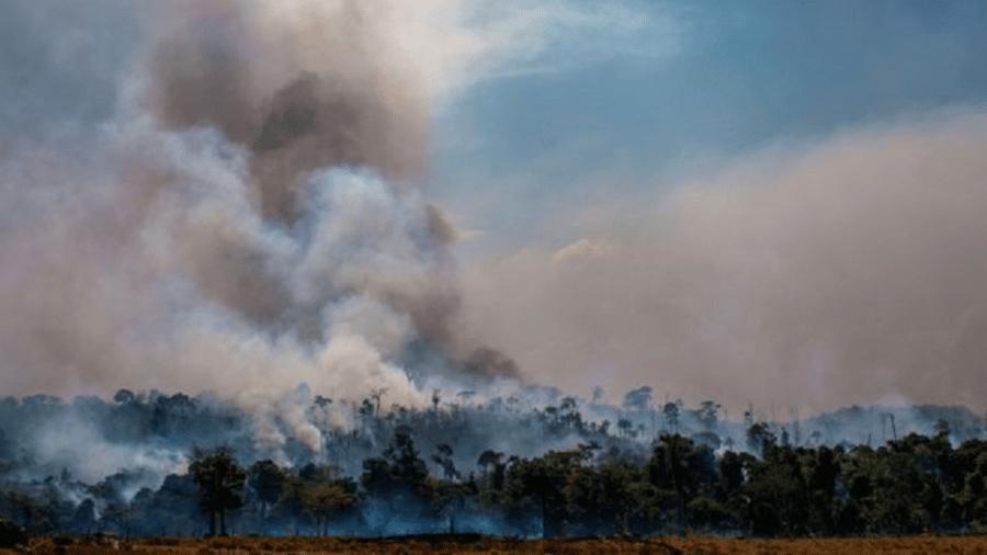 Número de incêndios registrados no Brasil aumentou significativamente em 2019, mas em alguns períodos entre 2002 e 2010 as quantidades registradas foram ainda maiores - Getty Images