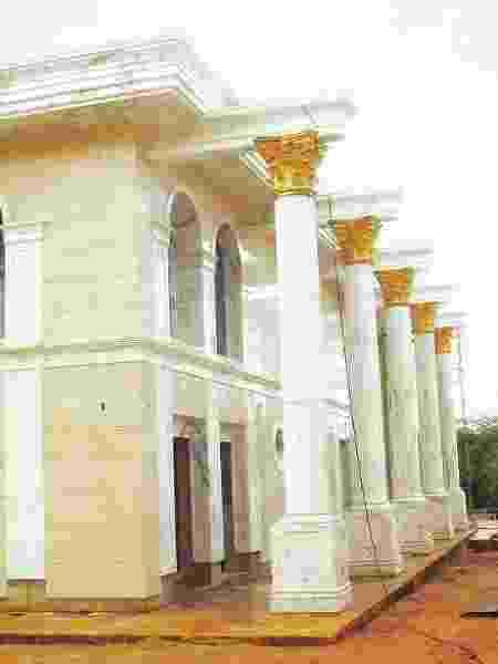 Casa de Sheik em Valinhos (SP) tinha banheira de ouro e piso de mármore - Divulgaçã