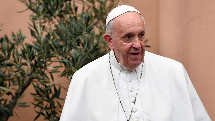 Sob o comando do papa Francisco, Igreja endureceu a postura contra as armas nucleares e pediu sua abolição total - Alberto PIZZOLI / AFP