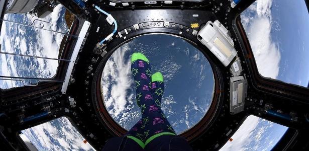 Astronauta posta foto incrível comemorando Hanukkah no espaço; veja