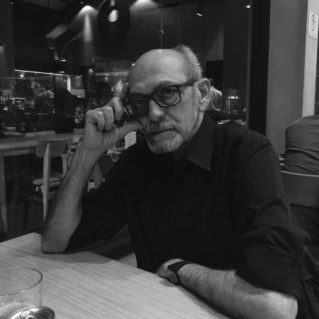 O jornalista Luiz Maklouf, que morreu neste sábado (16) em São Paulo - Reprodução