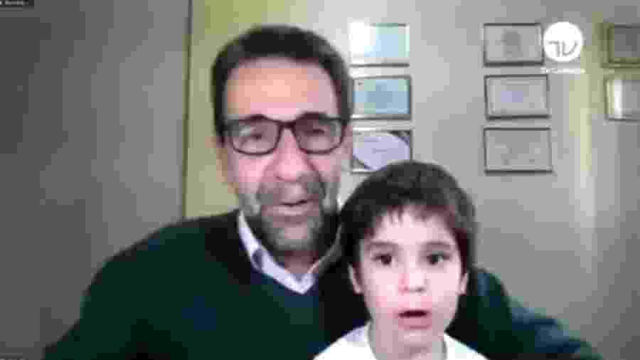 """""""Dá um tchau pra gente, pra animar esse ambiente pesado que vive a política hoje em dia"""", brincou Rodrigo Maia - Reprodução"""