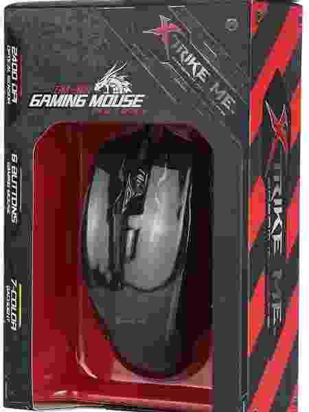 Mouse Gamer GM-304 - Reprodução/Amazon - Reprodução/Amazon