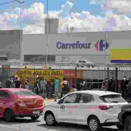 Morte de João Alberto no Carrefour gerou onda de protestos pelo país - Gustavo Aguirre/TheNews2/Estadão Conteúdo - Gustavo Aguirre/TheNews2/Estadão Conteúdo