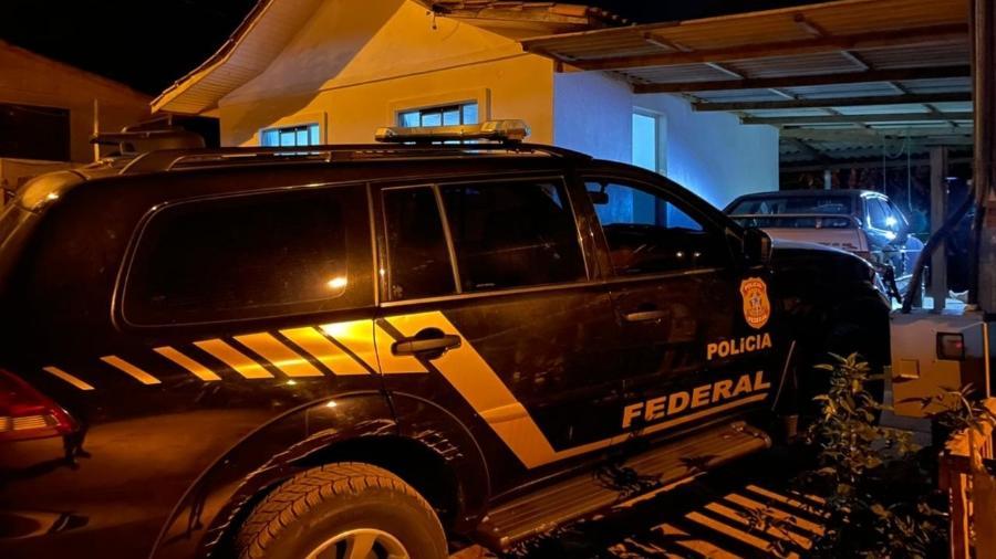 Polícia Federal cumpre mandados nos três estados da região Sul do país - Divulgação/Polícia Federal
