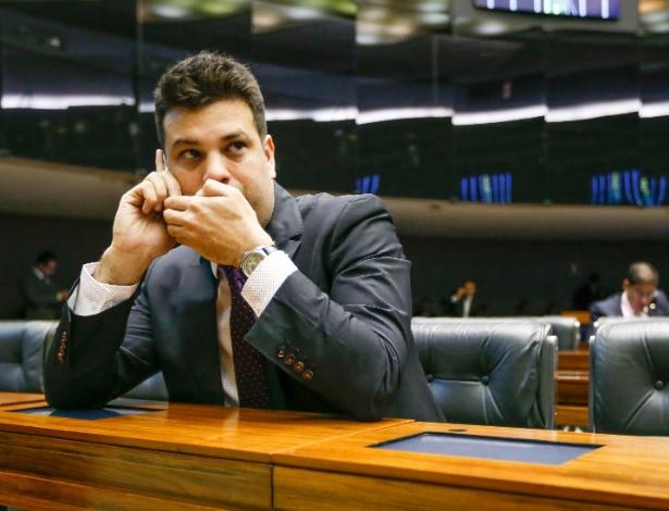 O deputado Leonardo Picciani, que tenta se tornar líder do PMDB