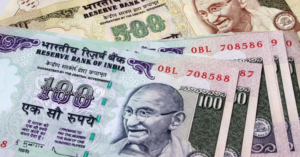rúpia indiana, moeda da índia