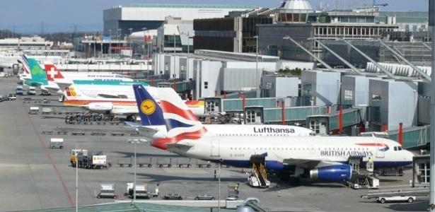 Aeroporto de Genebra, na Suíça - Divulgação