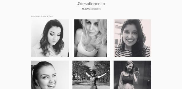 Hashtag #desafioaceito ganha força no Instagram para promover o combate ao câncer