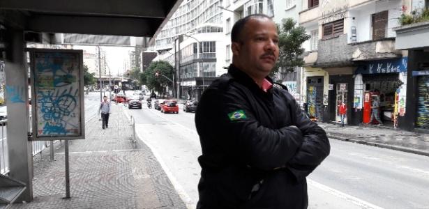 Afetado pela greve, segurança apoia movimento: 'tem que fazer mesmo' - Luciana Quierati/UOL