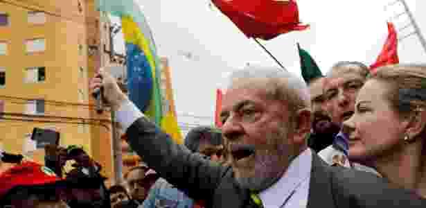Em maio, Lula foi a Curitiba prestar depoimento a Moro - 10.mai.2017 - Nacho Doce/Reuters