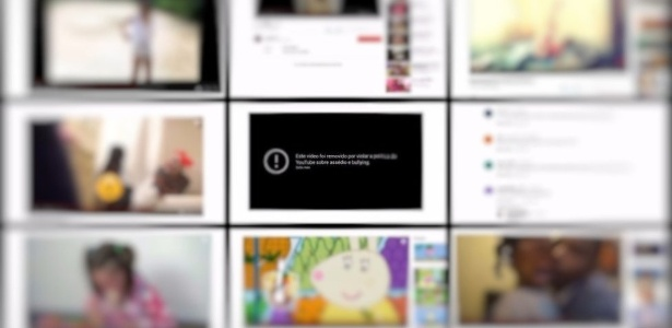 Plataforma anunciou retirada de dezenas de milhares de vídeos chocantes, mas problema persiste - Reprodução/YouTube