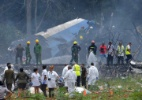 Avião cai em Cuba - Adalberto Roque/AFP