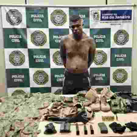 Felipe Ferreira Carolino, conhecido como Zulu, foi preso hoje - Divulgação/Polícia Civil