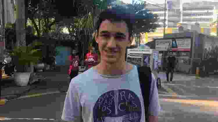 Weslley de Paiva Souza disse que não teve dificuldades na prova de hoje do Enem - Marina Lang/UOL - Marina Lang/UOL
