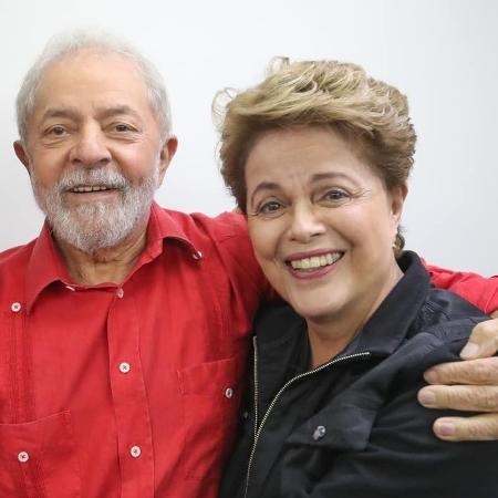 21.nov.2019 - Lula e Dilma em evento em São Paulo - Ricardo Stuckert/Facebook