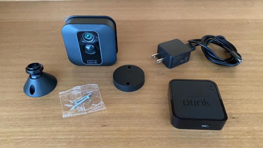 Câmera inteligente Blink - Arquivo pessoal
