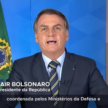 Bolsonaro faz pronunciamento sobre coronavírus - Fotos: Charly Triballeau/Reuters; ANI