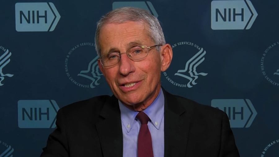 Anthony Fauci é infectologista e assessor da Casa Branca para o combate ao coronavírus - Reprodução/CNN