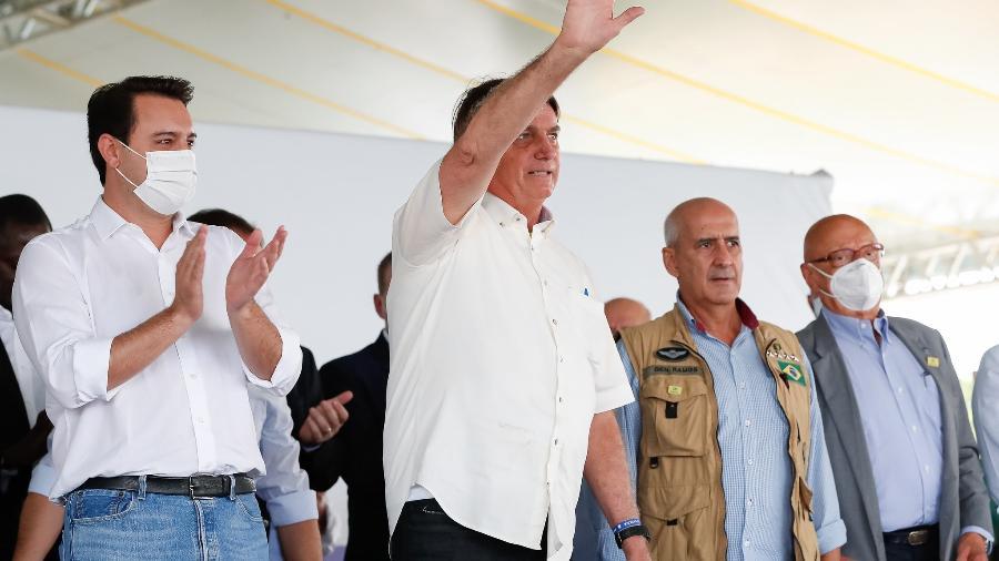 Bolsonaro agradeceu porque nem todos caminhoneiros fizeram greve na segunda-feira - Alan Santos