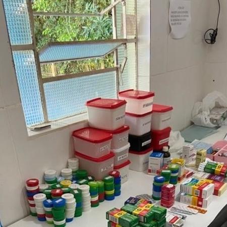 Clínica de reabilitação em Valparaíso de Goiás foi fechada após denúncias contra o dono - Divulgação/Polícia Civil de Goiás