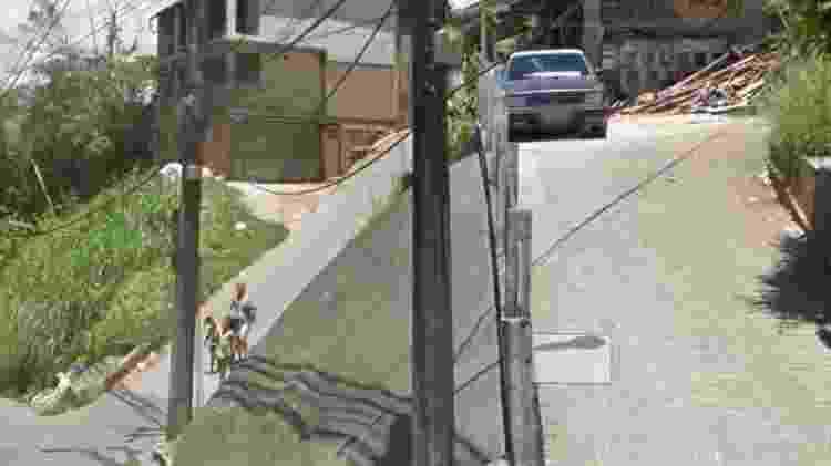 Rua Professor Stroeller, em Petrópolis (RJ) - Reprodução/Google Street View - Reprodução/Google Street View