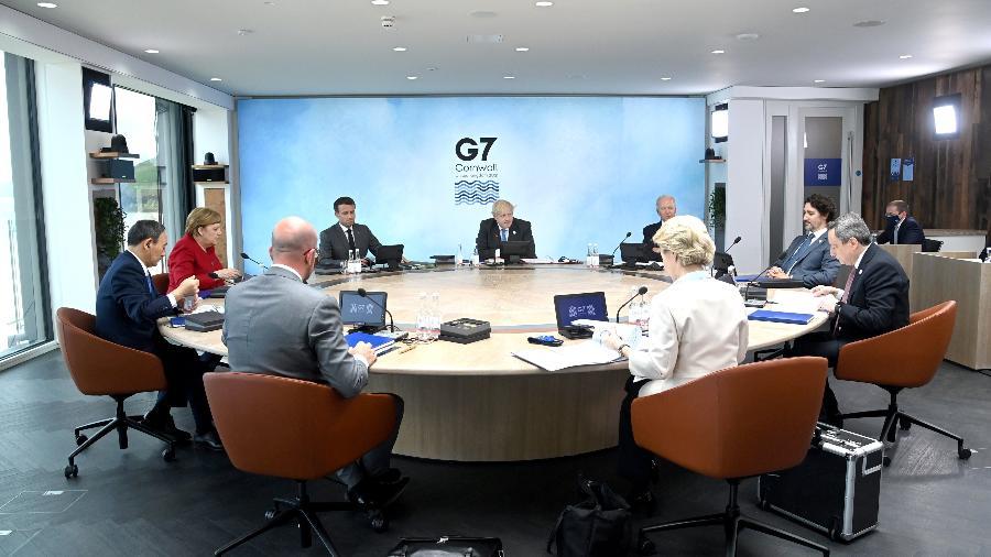 G7 se reúne na Inglaterra - Reprodução/@g7