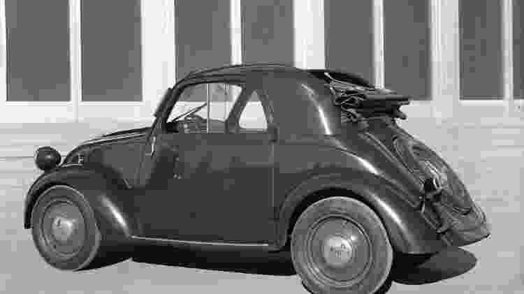 Fiat Topolino F - Divulgação  - Divulgação