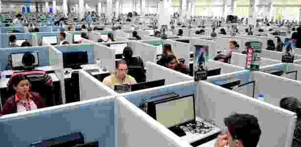 Sede da AeC, empresa de call center em Arapiraca (AL), que gerou 1.200 vagas neste ano  - Beto Macário/UOL