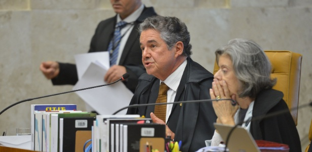 O ministro do STF (Supremo Tribunal Federal) Marco Aurélio Mello