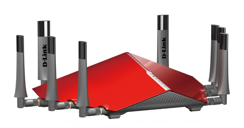 Roteador Ultra Wi-Fi AC5300 da D-Link