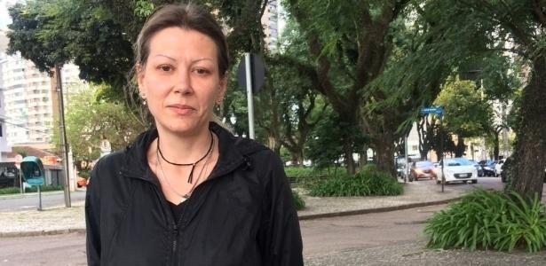 A autônoma Juliana Laux mora no Bigorrilho, área nobre de Curitiba