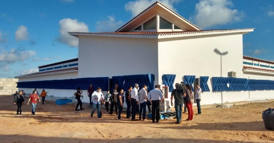 Seis meses após um massacre que vitimou 26 presos, três dos seis pavilhões da Penitenciária de Alcaçuz, no RN, foram reformados, mas só um, o 3, está em funcionamento