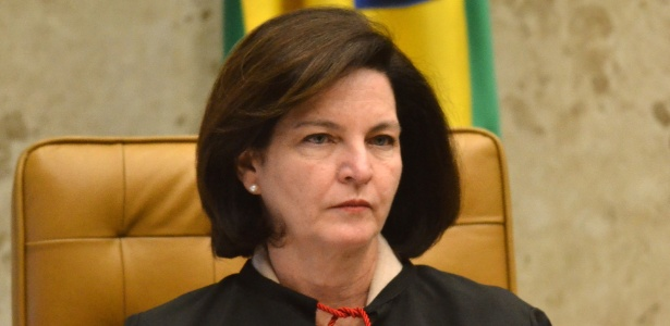 Raquel Dodge, procuradora-geral da República, no plenário do Supremo Tribunal Federal