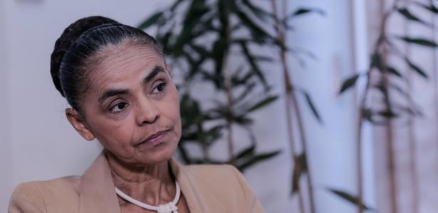 """Marina Silva disse não querer o apoio do chamado """"centrão"""" nas eleições"""