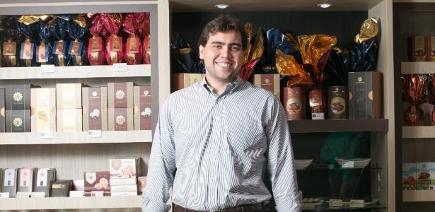Christian Neugebauer trabalhou na fábrica da família desde jovem e agora tem franquia