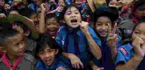 Saga dos meninos terminou em festa nas ruas - Reuters - Reuters