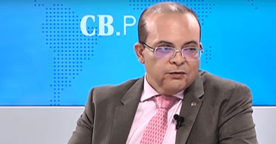 9.out.2018 - Ibaneis Rocha é entrevistado no programa CB.Poder --parceria do Correio Braziliense com a TV Brasília