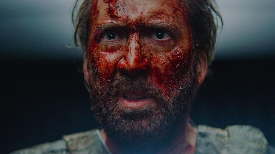 """Nicolas Cage em cena de """"Mandy"""" - Divulgação"""