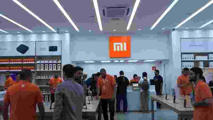 Inauguração da primeira loja da Xiaomi no Brasil teve mais de 5 mil pessoas - Bruna Souza Cruz/UOL