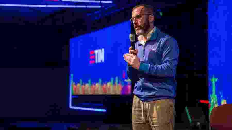 O italiano Pietro Labriola, CEO da TIM Brasil - Patrick Rocha/Pinguim Pictures/Divulgação