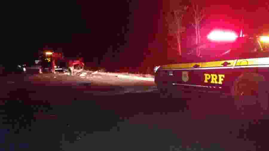 Quatro pessoas morreram em colisão de três veículos na BR-343, no Piauí  - Divulgação/Polícia Rodoviária Federal