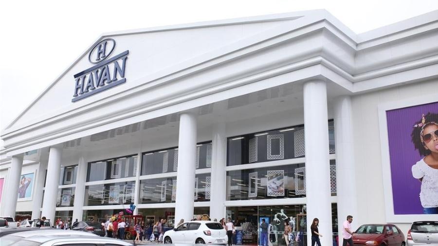 Fachada da loja da Havan de Porto Belo, em Santa Catarina - Reprodução