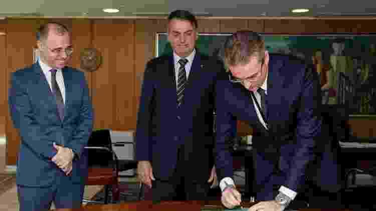 Rolando Alexandre de Souza assina termo de posse como novo diretor-geral da Polícia Federal - Isac Nóbrega/PR/Divulgação - Isac Nóbrega/PR/Divulgação