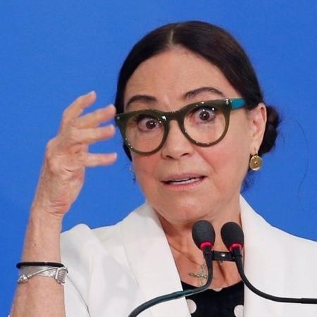 'Eu tinha uma boa imagem dela, mas parece que não está funcionando', diz Olavo sobre Regina Duarte como secretária de Cultura do governo federal - REUTERS/Adriano Machado