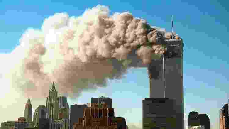 Incendio en las Torres Gemelas - Getty Images - Getty Images