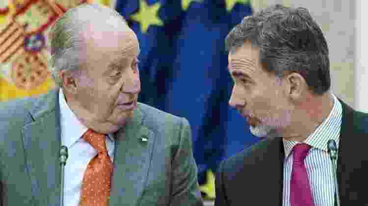 Juan Carlos 1º abdicou em 2014 após uma série de escândalos envolvendo sua famíia - Getty Images - Getty Images