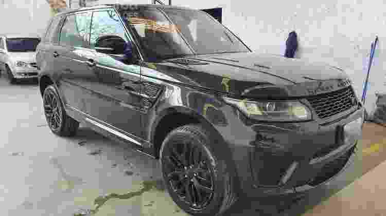 Modelo Range Rover que pertencia a líder do PCC e será leiloado por decisão judicial - Reprodução/Hasta Pública Leilões  - Reprodução/Hasta Pública Leilões