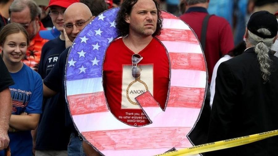 Manifestantes invadiram o Capitólio, sede do Congresso dos EUA - Getty Images